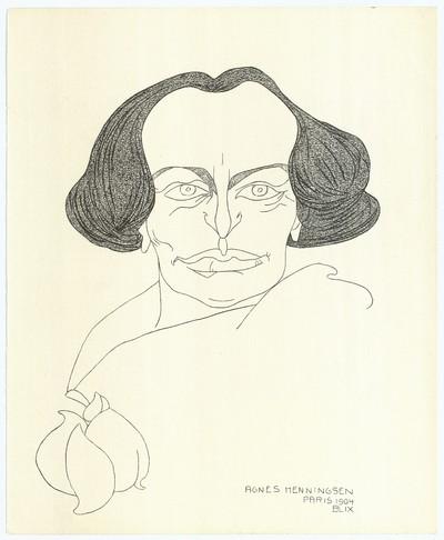 Agnes Henningsen, Paris 1904