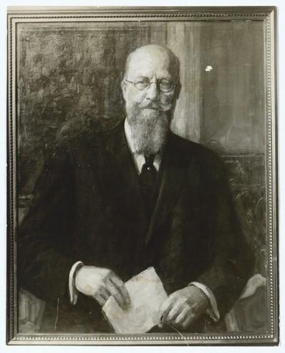 Portræt af  statsminister Th. Stauning