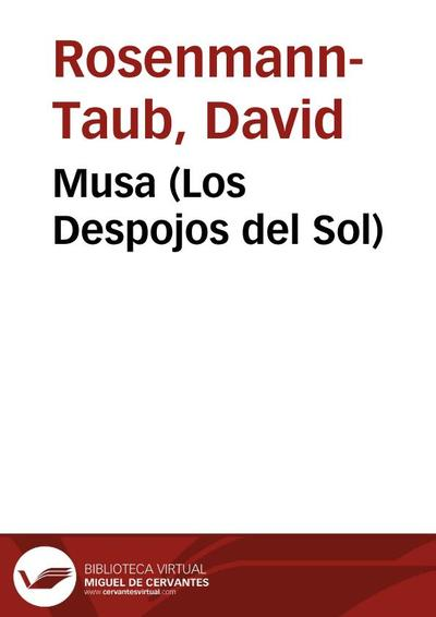 Image from object titled Musa (Los Despojos del Sol)