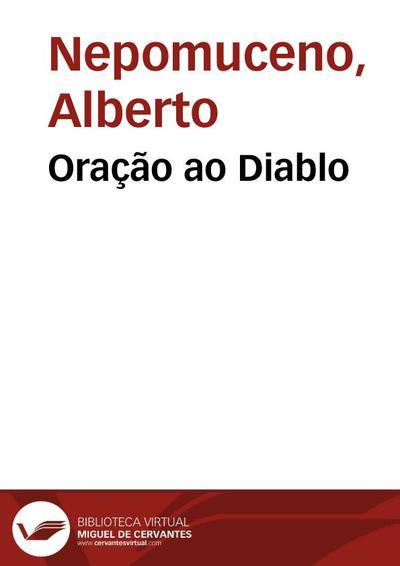 Image from object titled Oração ao Diablo