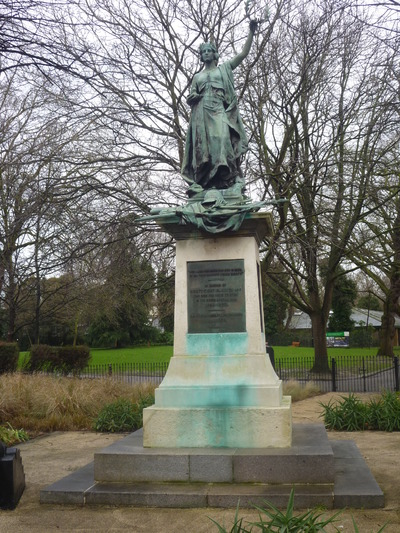 Image from object titled Highbury Boer War Memorial, Highbury Fields, Islington, London
