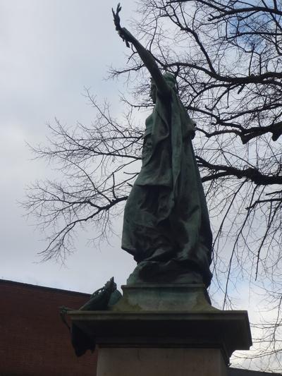 Highbury Boer War Memorial, Highbury Fields, Islington, London