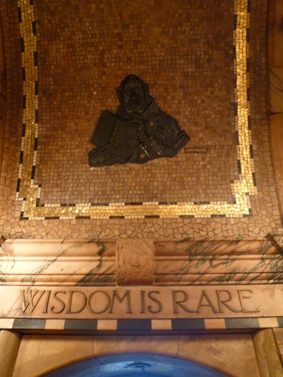 Wisdom is Rare - The Black Friar public house, Queen Victoria Street, London