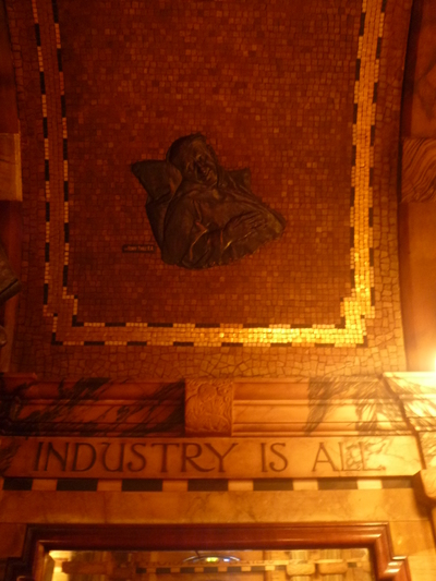 Industry is Ale - The Black Friar public house, Queen Victoria Street, London