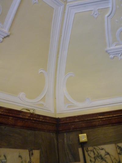 County Hall, Bond Street, Wakefield - Interior ceiling decoration