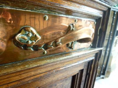 County Hall, Bond Street, Wakefield - Exterior door (detail)