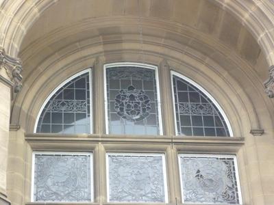 County Hall, Bond Street, Wakefield - Exterior upper floor balcony and windows