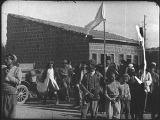 Image from object titled the ADVANCE THROUGH NAZARETH AND DAMASCUS, SEPTEMBER 20TH-OCTOBER 1ST 1918 [Main]
