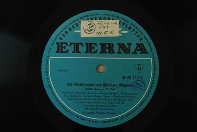 Image from object titled Die Meistersinger von Nürnberg