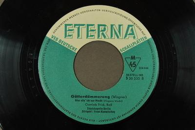 Image from object titled Götterdämmerung <Hier sitz' ich zur Wacht>]
