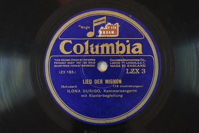 """Image from object titled Gesänge aus """"Wilhelm Meister"""" <Lied der Mignon 2>"""