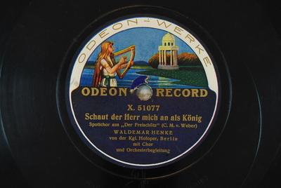 Image from object titled Der Freischütz / Auswahl