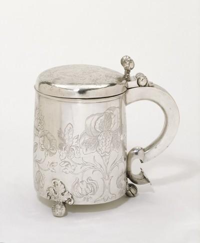 Tankard, silver, English, mid-16th century