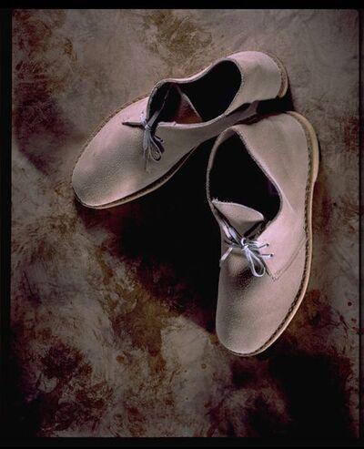 Desert boots, light brown suede, Clarks, Great Britain, 1994.