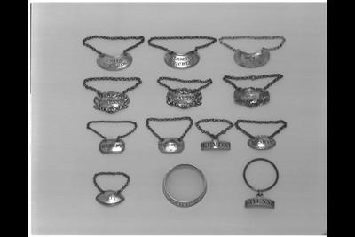 Silver, London hallmarks for 1801-1802, mark of John Emes.