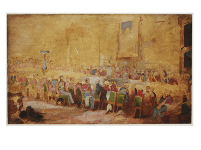 The ^Waterloo banquet