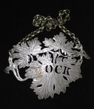 Silver, Birmingham hallmarks for 1837-8, mark of Gervase Wheeler.