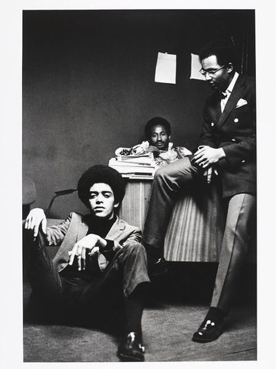 Image from object titled The Brothers, Black House; Growing Up Black
