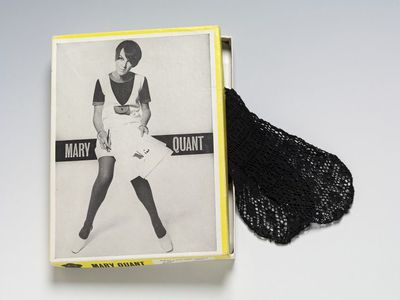 Tights, synthetic lace, Mary Quant, Great Britain, 1960s. Tights of synthetic lace.Synthetic lace.