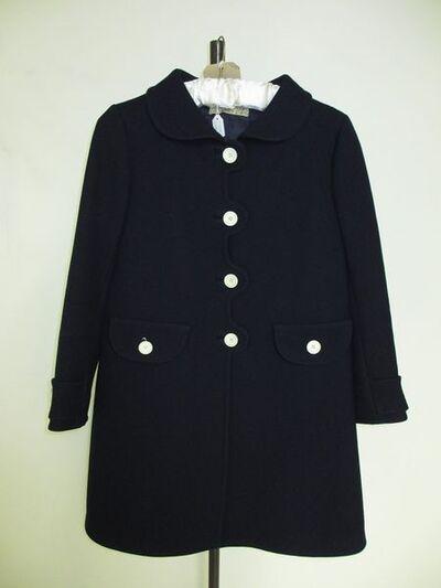 Gabardine coat, designed by Emanuel Ungaro, Paris, 1960s.Gabardine.