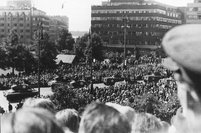 Image from object titled Frigjøringsfeiring i Oslo