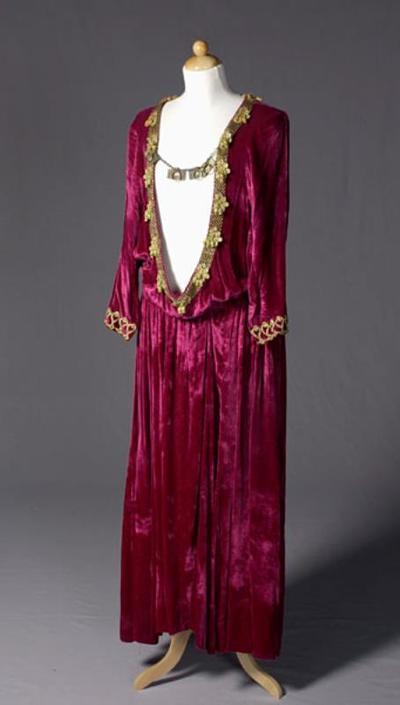 Kostuum gedragen door Matti Juhani als Herodes in Salomé (Richard Strauss)