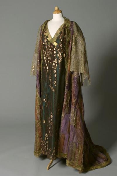 Kostuum gedragen door Anny Schlemm als Herodias in Salomé (Richard Strauss)