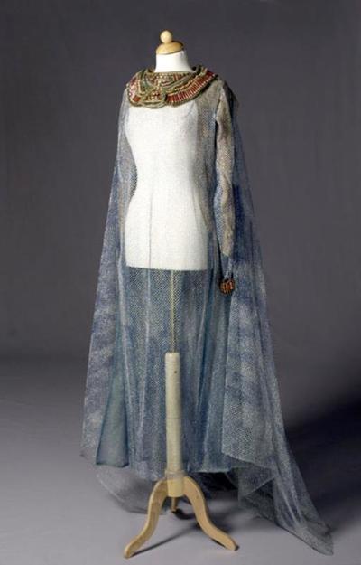Kostuum gedragen door Clarice Carson als Salomé I in Salomé (Richard Strauss)