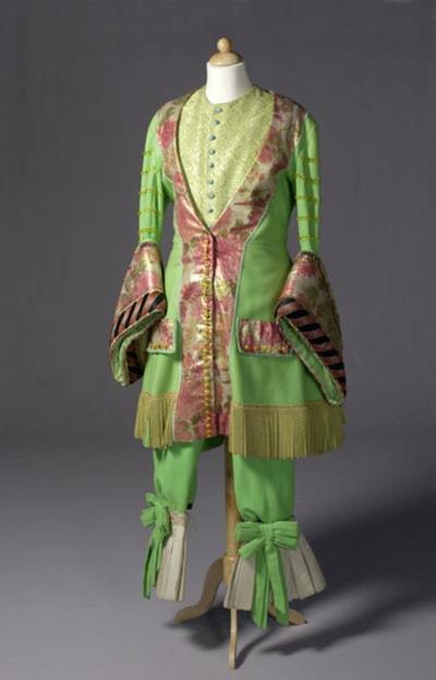 Kostuum gedragen door Jeroen Krabbé als Medley in Kleren Maken de Man