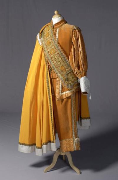 Kostuum gedragen door Jeroen Krabbé als Christian de Neuvilette uit Cyrano de Bergerac