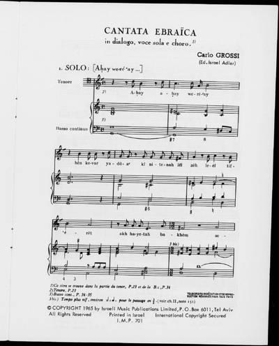 Cantata Ebraïca
