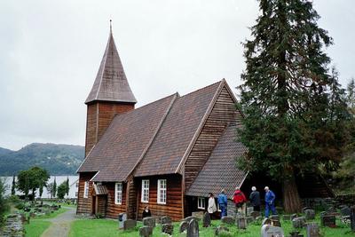 Image from object titled Hamre prestegjeld og Hamre kyrkje