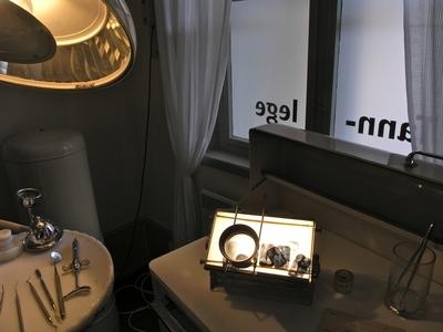 Lysbord med røntgenbilder