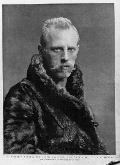 Fridtjof Nansen - portrett