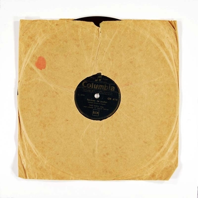 Image from object titled Perlefiskene – Nadirs romance / Berceuse de Jocelyn; Grammofonplate