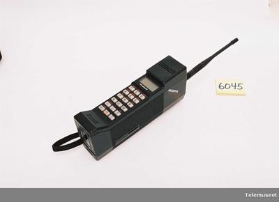Image from object titled Mobira Cityman 450; Mobiltelefon