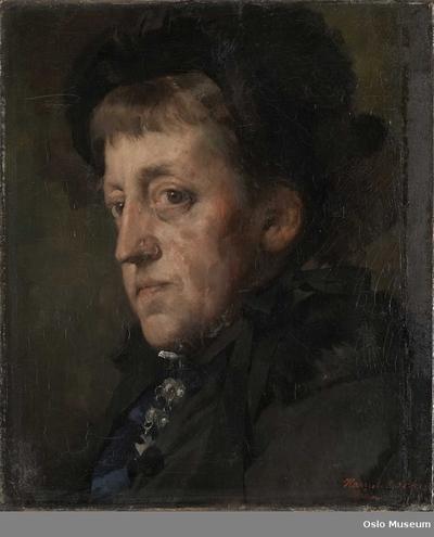 Portrett av Kitty (Christine) Lange Kielland