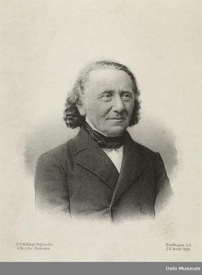 Portrett av Carl P. Caspari