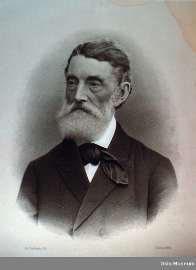 Portrett av: Sverdrup, Johan