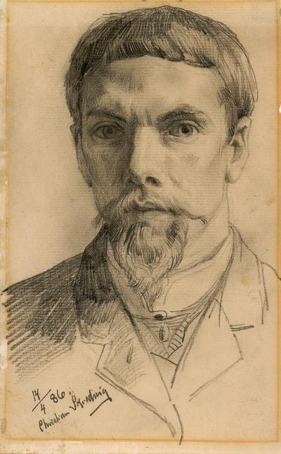 Portrett av Skredsvig, Christian