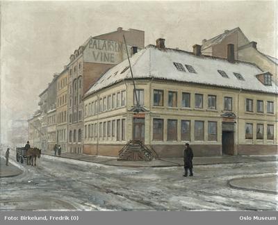 Firma P.A. Larsens gård, Rådhusgaten 4