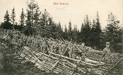 Image from object titled Mobilisering 1905