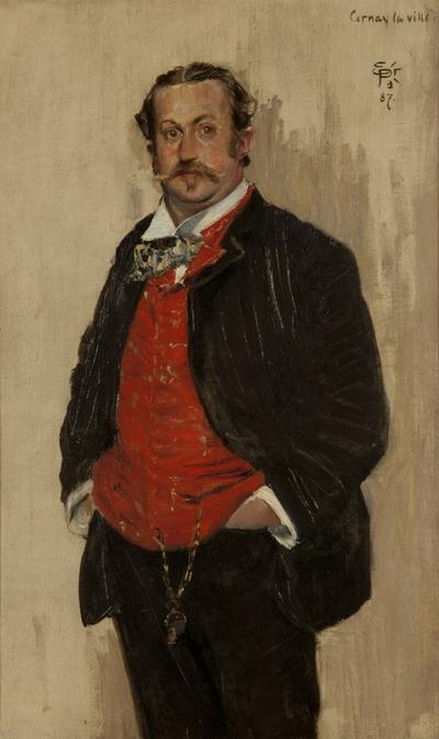 Portrett av Alexander L. Kielland