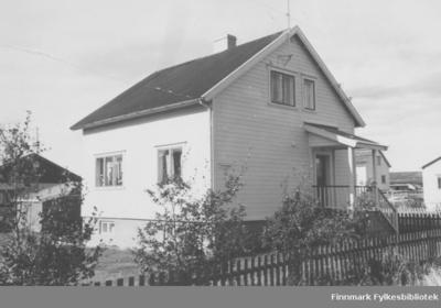 Familien Ebeltofts hus i Fossevn