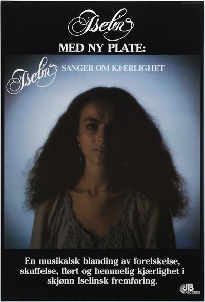 Iselin / Sanger om kjærlighet; Plakat