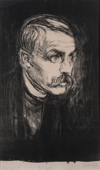 Portrett av Sigbjørn Obstfelder