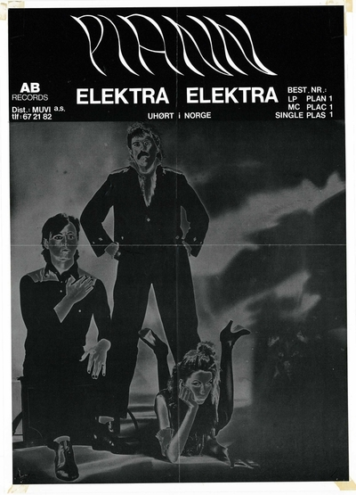 Plann / Elektra, Elektra; Plakat