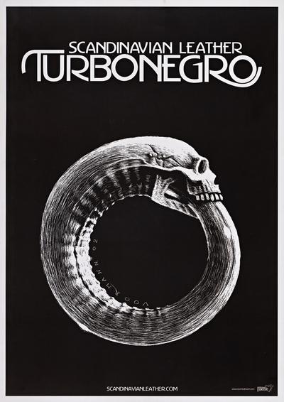 Turboneger / Scandinavian Leather; Plakat