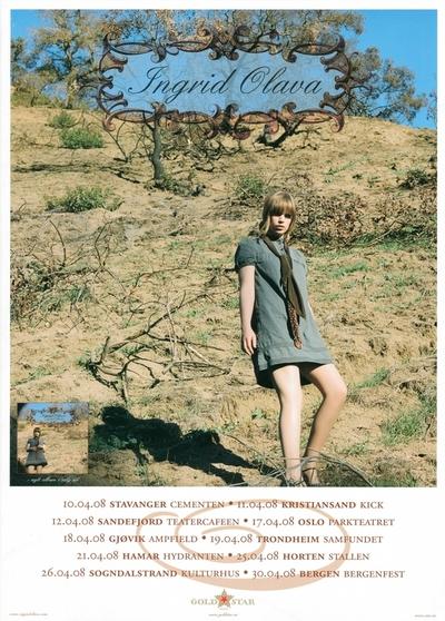 Ingrid Olava / Juliet's Wishes; Plakat
