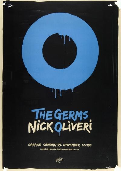 The Germs + Nick Oliveri; Plakat
